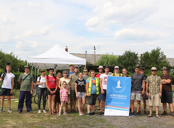 Voluntariat pentru Protecția naturii în Hortobágy