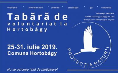 Tabără de voluntariat în domeniul protecției mediului la Hortobágy, Ungaria