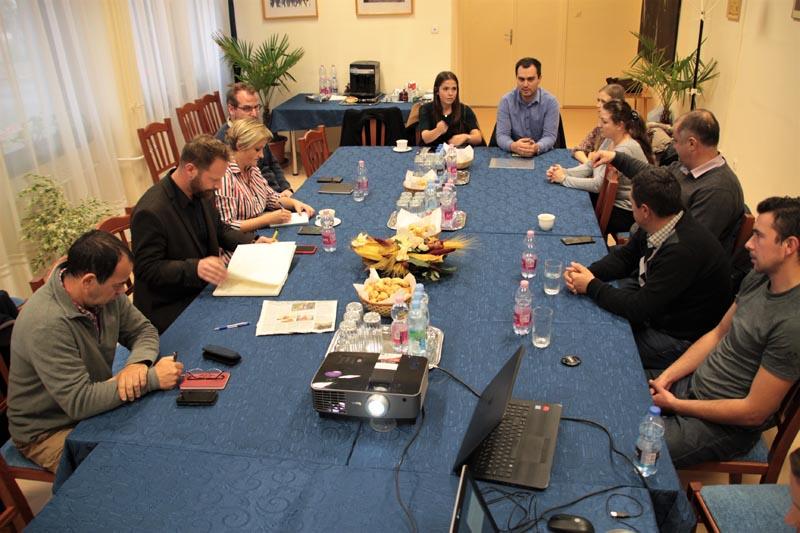 Întâlnire în legătură cu proiect la Hortobágy – 2019. 20. noiembrie
